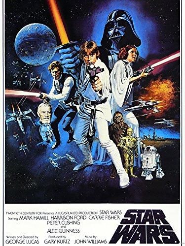 Star Wars Movie Vintage 24x18 Print Poster