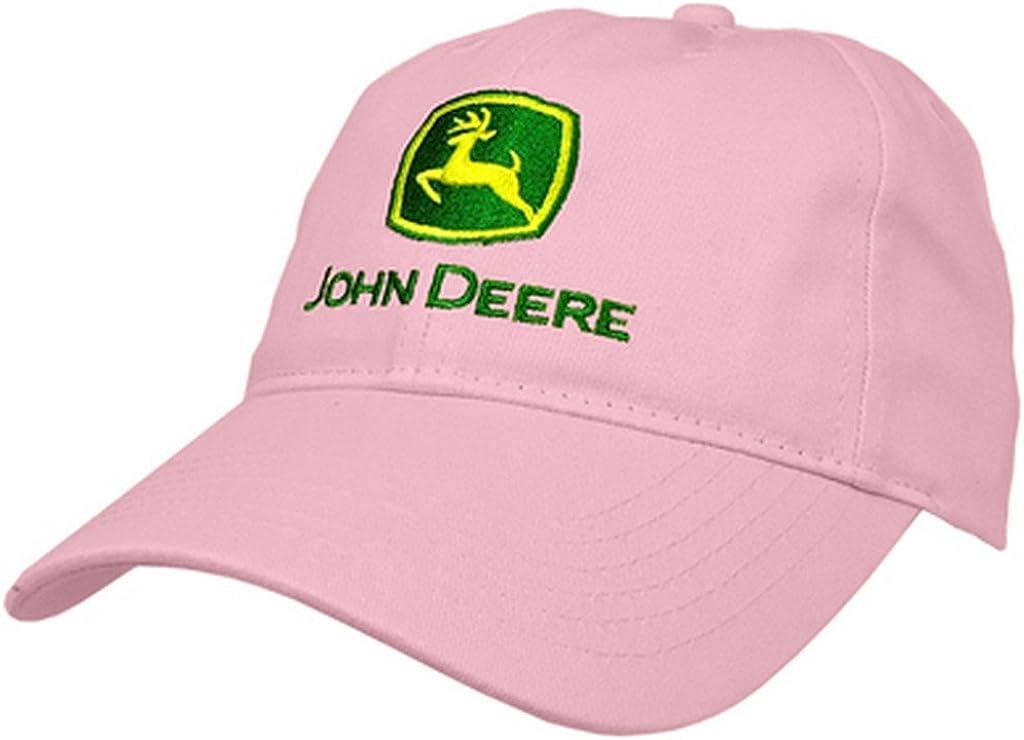 amazon com john deere i love jd hat pink john deere clothing amazon com