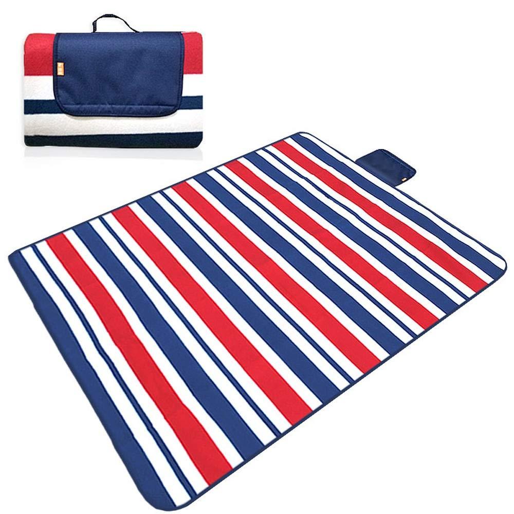 TSDS Portable Picnic Mat Outdoor Camping Moisture Proof Mat Green Comftable Beach Mat (Color : I)