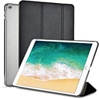 Moonlux Trifold Adjustable Stand Case for iPad 9.7 2018/2017 with Auto Sleep/Wake Function