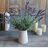 Mini Green Fake Plants Bouquet Lavender Leaves Grass Wedding Garden Home Floral Decor Flowers Arrangement