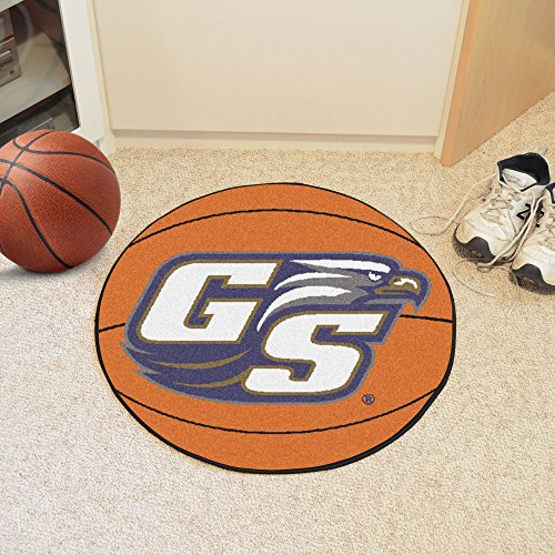 FANMATS NCAA Georgia Southern University Eagles Nylon Face Basketball Rug (Southern University Basketball Rug)