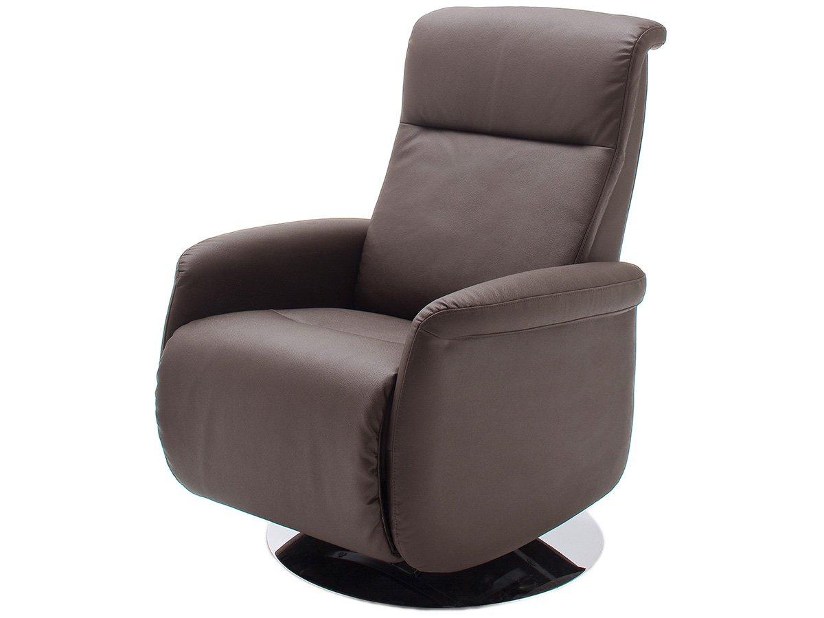 relaxsessel mit klappbarem fu teil fernsehsessel tv sessel braun marseille i g nstig kaufen. Black Bedroom Furniture Sets. Home Design Ideas