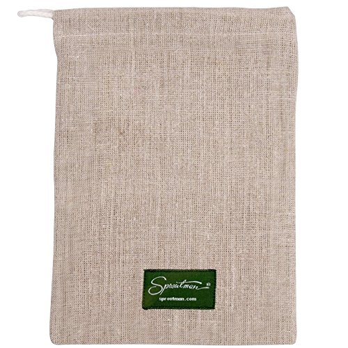 Sproutman Hemp Sprout Bag - Just Dip In Water, Hang It Up, Watch It Grow by Sproutman