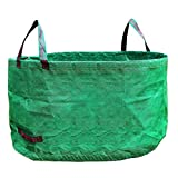 Woven Gardening Bag Reusable Yard Leaf Waste Bag Eco-Friendly Durable Gardening Trash Lawn Leaf Bag Large Capacity and Wide Opening