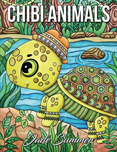 - Chibi Animals: An Adult Coloring Book with Adorable Cartoon Animals, Cute Nature Scenes, and Relaxing Patterns for Animal Lovers