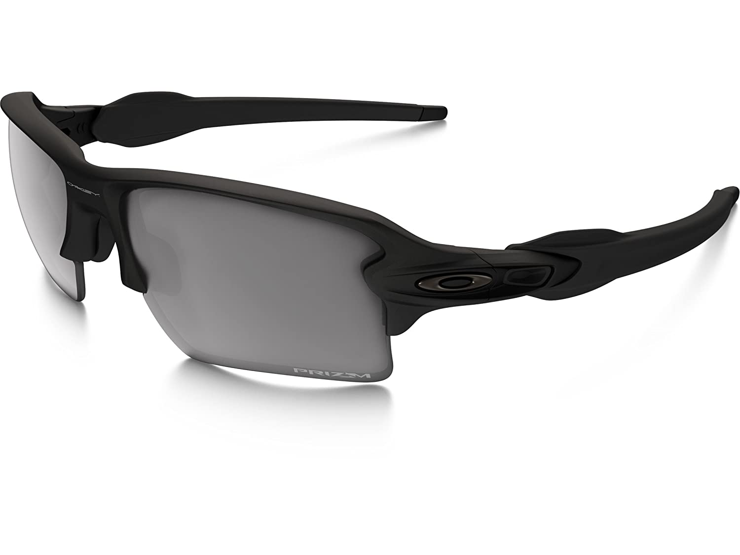51ee80bd693 Amazon.com  Oakley SI Flak 2.0 XL Sunglasses Prizm Gray Lens Matte Black  Frame  Clothing