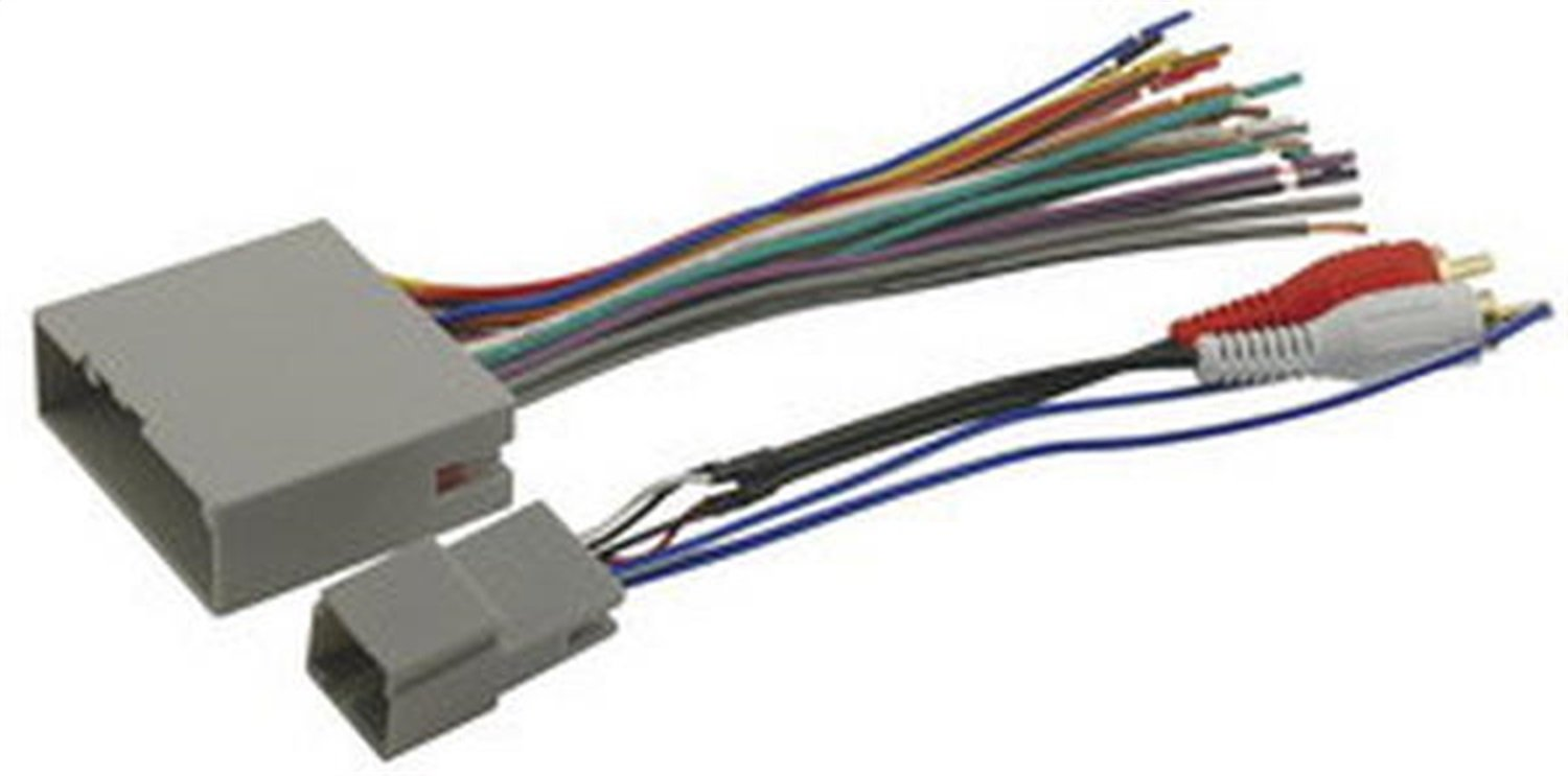 Scosche Fdk11b Wire Harness To Connect An Aftermarket 2004 F150 Factory Subwoofer Wiring Stereo Receiver For Select Up Ford Mercury Car Electronics