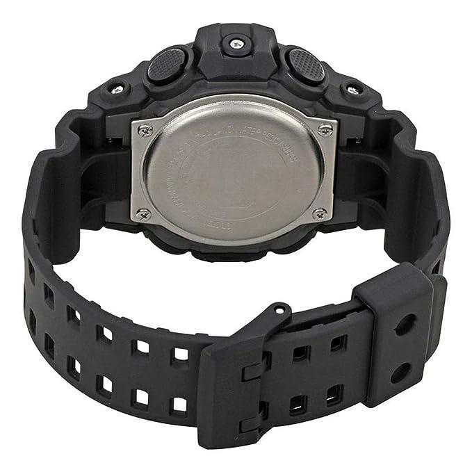 Casio Reloj Analógico-Digital para Hombre de Cuarzo con Correa en Plástico GA-700-1BER: Amazon.es: Relojes