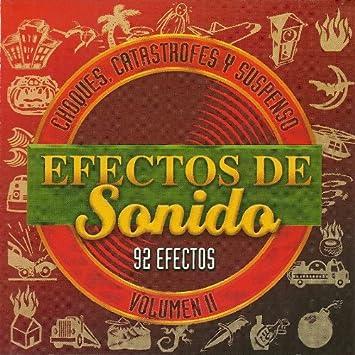 Catastrofes y Suspenso 92 Efectos=Choques - EFECTOS DE Sonido - Amazon.com Music