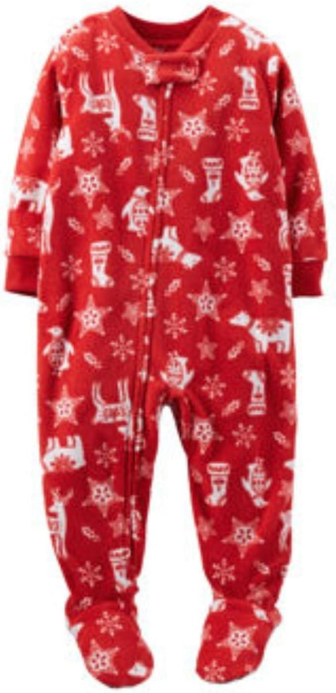 Footed Pajama Pants Sleepwear Fleece Footie Pants Set Infant Baby Soccer