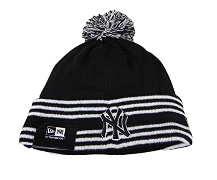 Image Unavailable. Image not available for. Color  New Era Beanie Mlb Sport  Knit Headwear New York Yankees ... b3d92b23befc