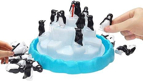 Juego de mesa de pingüino, puzzle, juego de mesa de equilibrio, juego para padres, niños, interacción de juguetes, Eisberg, Jenga, juguete de pingüino: Amazon.es: Bebé