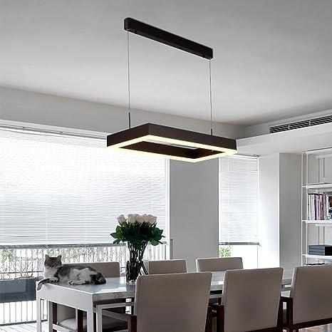 Modern techo LED minimalismo rectángulo alta crean Bosquejo ...