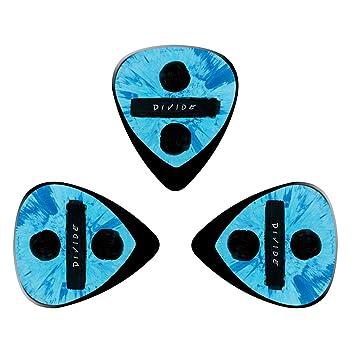 pimalico Classic Ed diseño Púas (3 unidades) para guitarra eléctrica, guitarra acústica, mandolina, y Graves/negro: Amazon.es: Instrumentos musicales