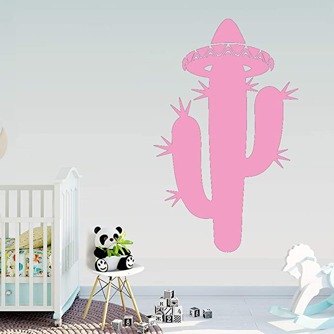 Ajcwhml Art Cactus Pegatinas de Pared Habitación Infantil ...