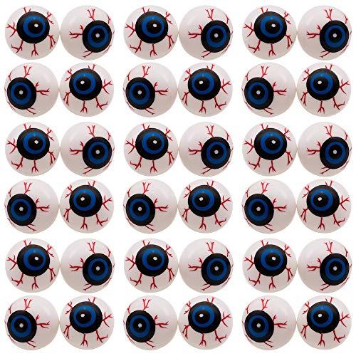 Halloween Eyeball Ping Pong Balls (Halloween Eyeballs - 50 Pack Bag of 2