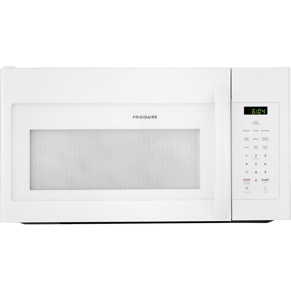 Frigidaire FFMV1645TW 30 Inch Over the Range Microwave Oven with 1.6 cu. ft. Capacity, 1000 Cooking Watts in White