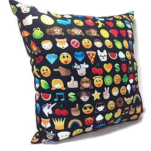 Filled Novelty Accent Throw Pillow Emoji (Collectible Novelty Phones)