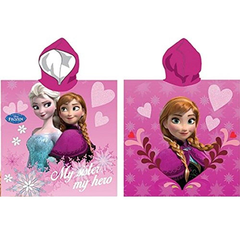 Poncho da bagno con cappuccio Disney ANNA Cuore –  La Regina delle Nevi –  Frozen