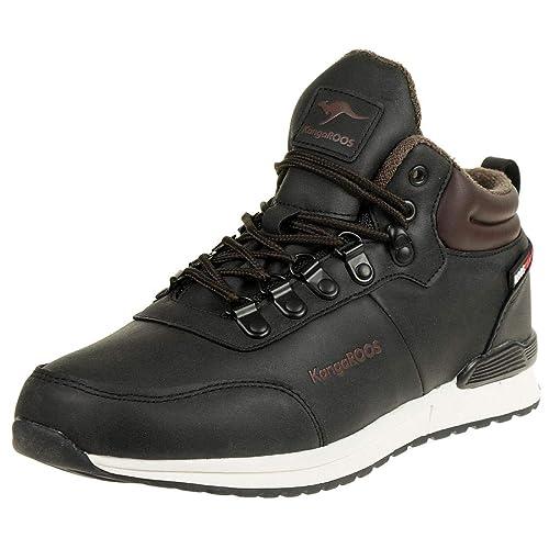 c5d71208 KangaROOS K-DUVAK RTX Sneaker Men Trainers 79062000 Jet Black ...
