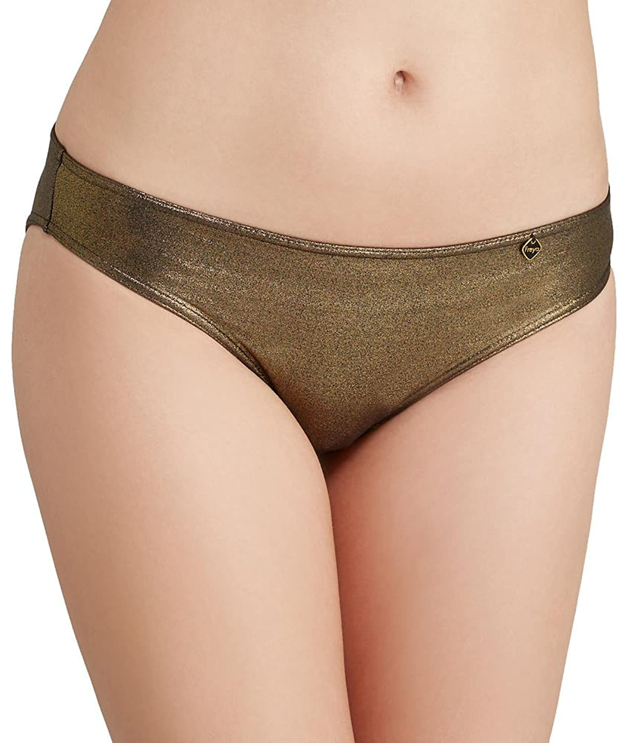 7128bed1ef8a Freya Swimwear Gold Rush Ultra Low Rise Hipster Brief Gold Rush:  Amazon.co.uk: Clothing