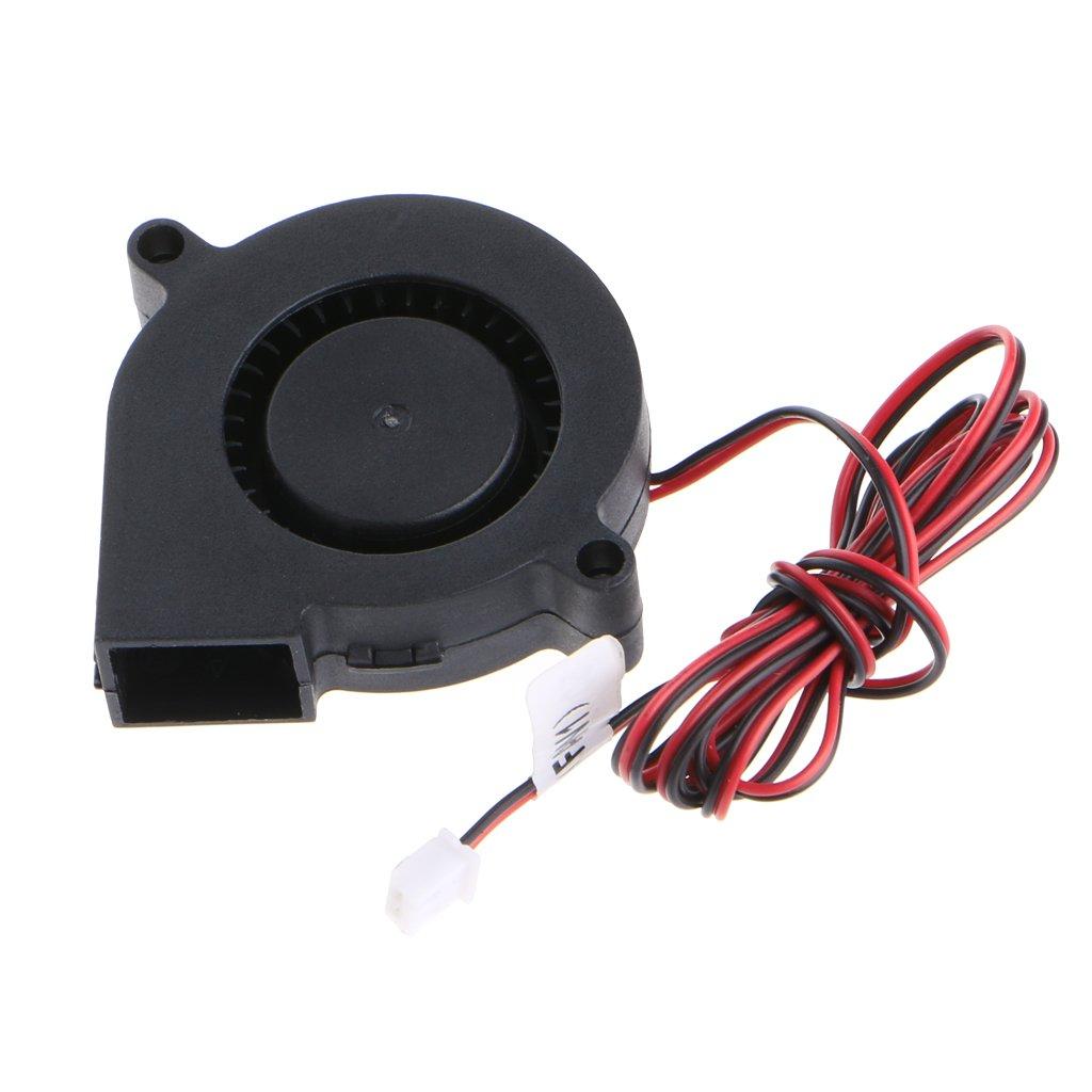 Chiic - 1 ventilador de refrigeración para impresora 3D, 12 V, 50 ...