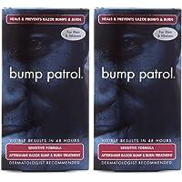 Bump Patrol Aftershave Razor Bump Treatment Sensitive Formula, 2 oz (Pack of 6)