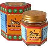 Tiger Balm Red Ointment for Muscalar Aches and Paints Herbal Rub Headache Pain Relief Big Jar (Thailand), 30g