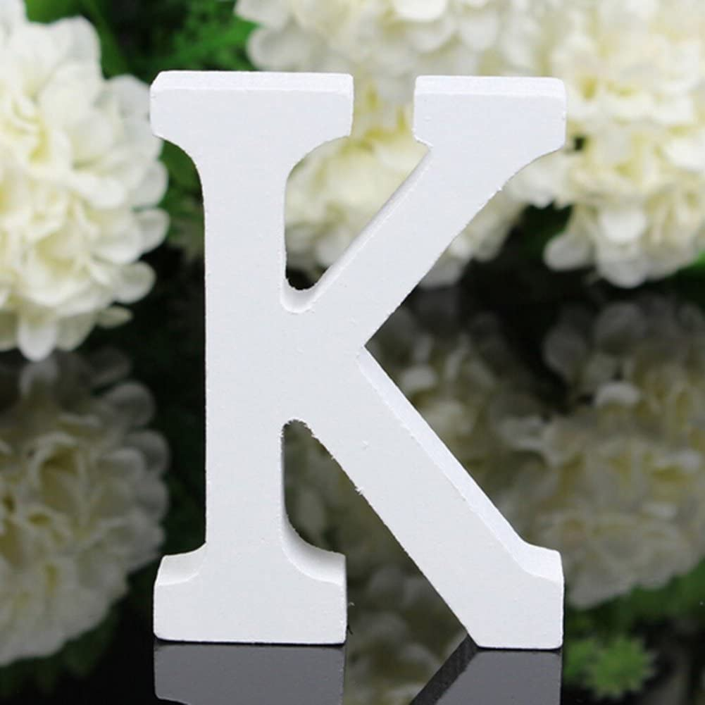 3D 26 Large Wooden Letters Alphabet Wall Hanging Wedding Party Decoration Decor