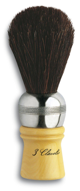 3 Claveles 12724 - Brocha de afeitar, caballo