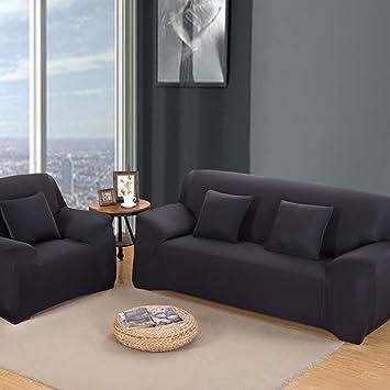 Funda para sofá Funda para 1 2 3 4 plazas sillón fácil ...
