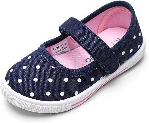 nerteo Toddler Shoes Girls Mary Jane
