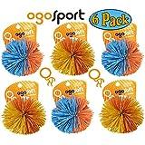 "Ogo Sport OgoSoft Balls 2.5"" Assorted Bulk Bundle - 6 Pack"