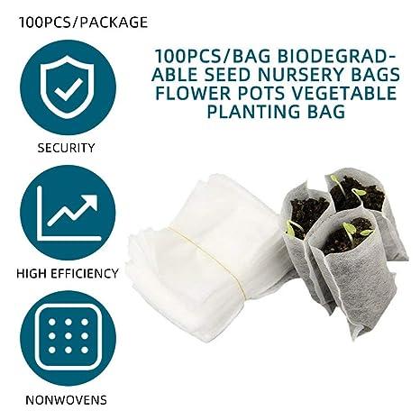 Tikafr - Bolsas biodegradables para Plantas de Cultivo de ...