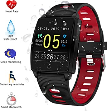 Padgene SmartWatch Reloj Inteligente IP67 Impermeable Bluetooth ...