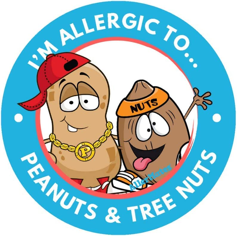 AllerMates Kids Peanut and Tree Nut Allergy Alert 2