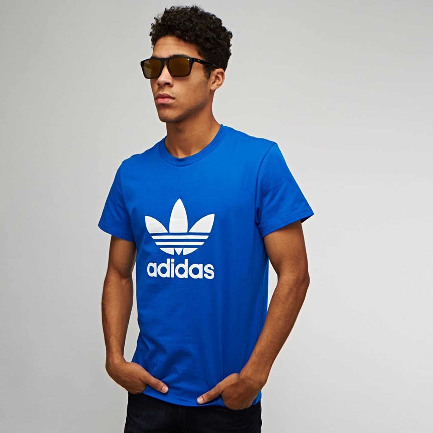 adidas sunglasses mens blue