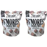 Harry London Gourmet Chocolates Smores Snack Mix - Pack of 2 Bags - 36 oz Total - Crunchy Cereal and Fluffy Marshmallows…