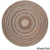 Rhody Rug Augusta Round Braided Wool Rug (8′ x 8′) – 8′ x 8′ Wheat Review