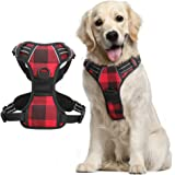 Rabbitgoo Dog Harness, No-Pull Pet Harness with 2 Leash Clips, Adjustable Soft Padded Dog Vest, Reflective No-Choke Pet…