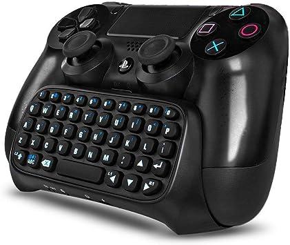 JIMAT Teclado inalámbrico Compatible con PS4 Teclado Playstation ...