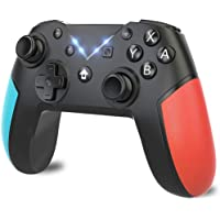 Controle sem fio para Nintendo Switch, Controlador Usergaing Switch Pro com Turbo, Dual Shock para consoles Nintendo…