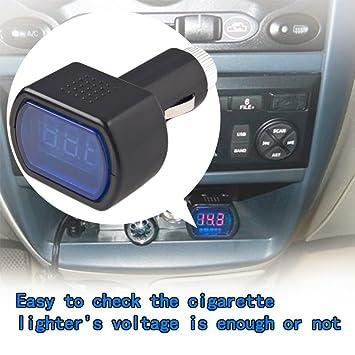LED Lichtmaschinen Tester KFZ Zigarettenanzünder Auto Spannungsanzeige 12 24V