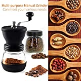 Manual Coffee Grinder with Ceramic Burrs,Coffee