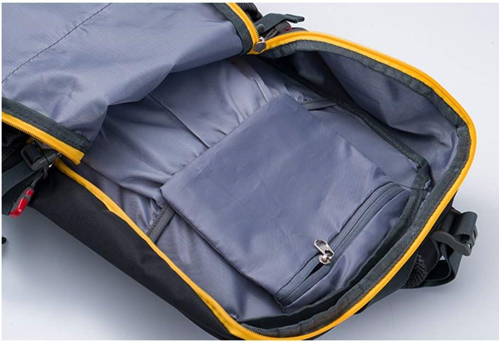 Asdf Outdoor-Sport Reise Bergsteigen Tasche, Große Kapazität Wasserdichter Rucksack, Ausgerüstet Mit Wasserdichter Abdeckung,-Pfeife Entwurf Green