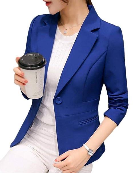 Camisa Mujer Otoño Elegante Americana Unicolor Manga Larga ...