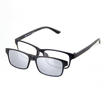 Cyxus filtro de luz azul gafas (lente transparente) con clip on polarizado gafas de