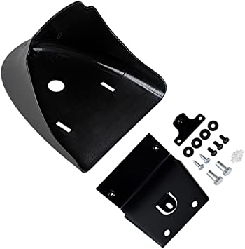 Ambienceo Black Front Chin Fairing Front Spoiler Air Dam for 2004-2014 Harley Davidson Sportster XL 883 1200