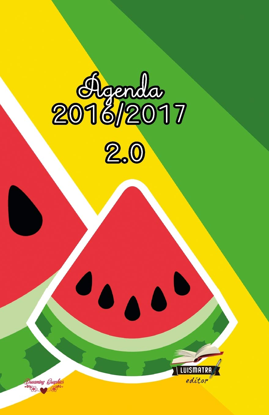 Agenda 2016 2017: interior a color: Volume 2 (Frutas ...